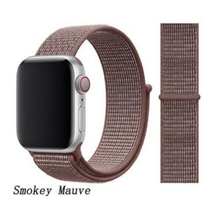NEW Smokey Mauve Sport Loop Strap For Apple Watch